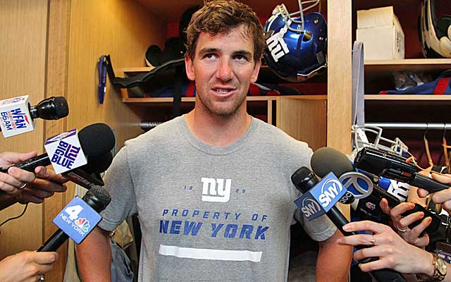 Eli Manning is out to prove to the Giants that his best playing days aren't behind him.(USATSI)