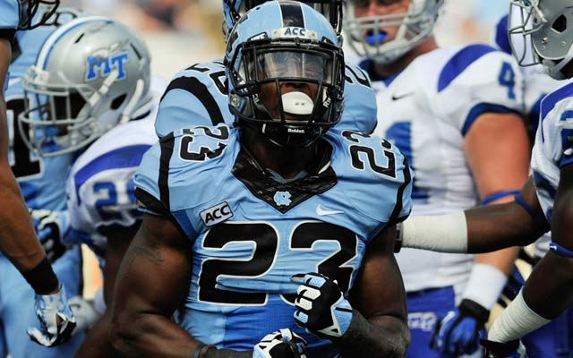 North Carolina LB Darius Lipford and three others go unselected.  (USATSI)