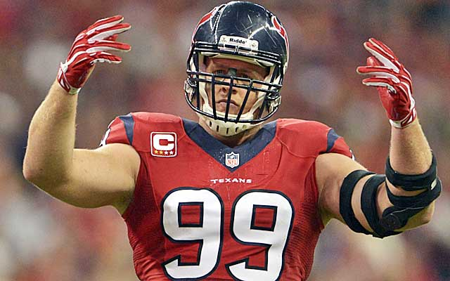 J.J. Watt is handcuffed by the current CBA and team-friendly fifth-year option.  (USATSI)