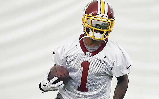 The Redskins are banking on DeSean Jackson turning in a big season.  (USATSI)