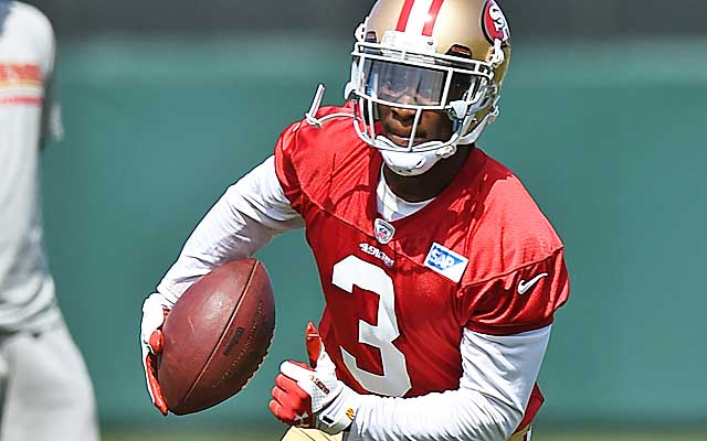Bruce Ellington could wind up as a draft steal for Jim Harbaugh's Niners.  (USATSI)