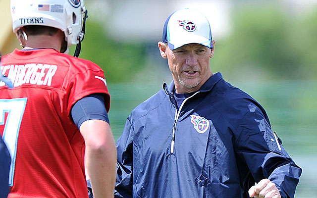 Ken Whisenhunt seems to like the fact his Titans are a little uncomfortable.  (Getty)