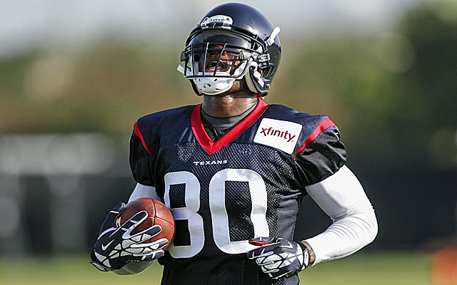 Andre Johnson is ready to help the Texans move on from last season's disaster. (USATSI)