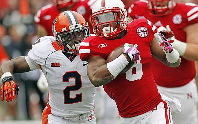 Ameer Abdullah led the Big Ten in rushing in 2013, averaging 130 yards a game.   (USATSI)