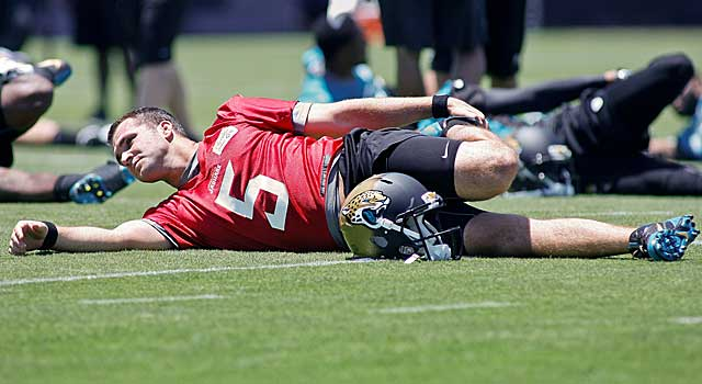 Is it a stretch to think of Blake Bortles as the Jags' starting QB? (USATSI)