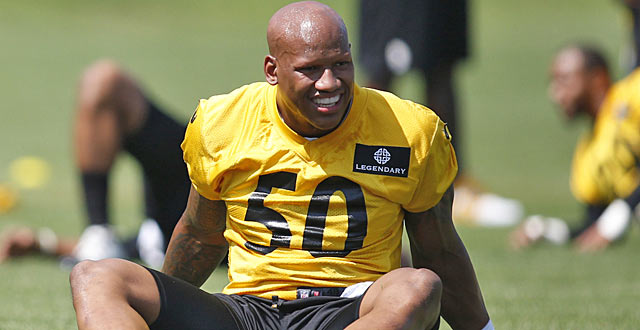 Ryan Shazier is part of the speed and youth movement on the Steelers D. (USATSI)