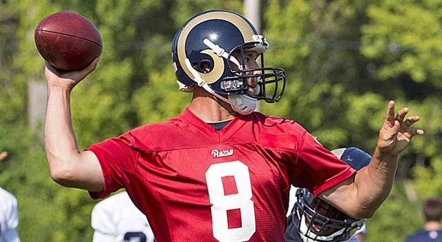 Is this the season Sam Bradford finally gets the Rams to the postseason? (USATSI)