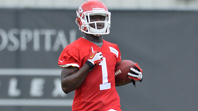De'Anthony Thomas looks capable of making a Dexter McCluster-like impact in KC. (USATSI)