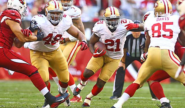 Frank Gore has found many holes for the 49ers. Is this season his last? (USATSI)