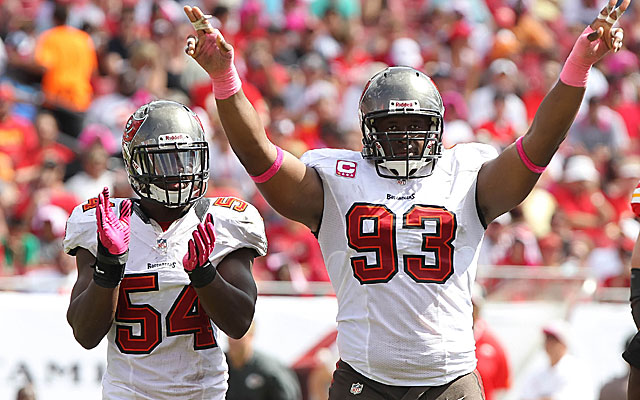 Are Lavonte David and Gerald McCoy the next Derrick Brooks and Warren Sapp?  (USATSI)