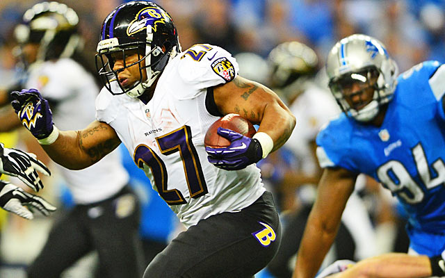 Ray Rice's 2013 season convinced many he was slowing down. (USATSI)