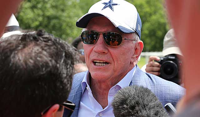 The Cowboys may struggle, but owner Jerry Jones helps significantly shape the NFL. (USATSI)