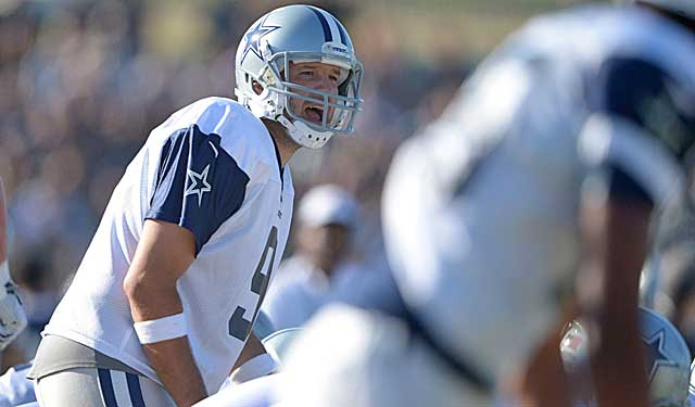 Tony Romo's practice work has been limited, with his throws often lacking the normal zing. (USATSI)