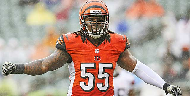The development of LB Vontaze Burfict into a Pro Bowler is attributed to Paul Guenther. (USATSI)