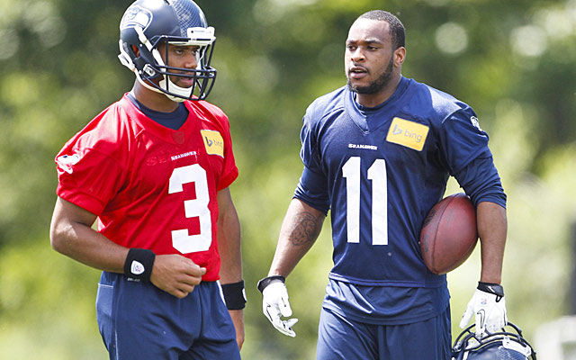 A healthy Percy Harvin gives Russell Wilson another field-stretching weapon. (USATSI)