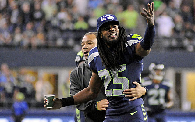 Richard Sherman and the talented Seahawks face a tough task in trying to repeat. (USATSI)