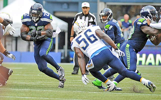 The Chargers made Robert Turbin and others look like All-Pros in a preseason blowout.