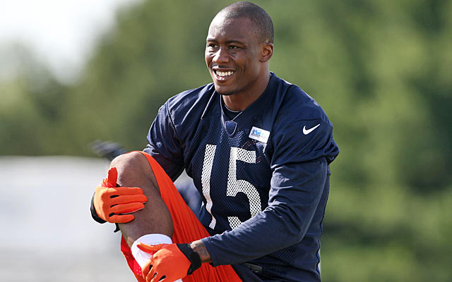 Brandon Marshall has left trouble behind while becoming a mental-health spokesman. (USATSI)