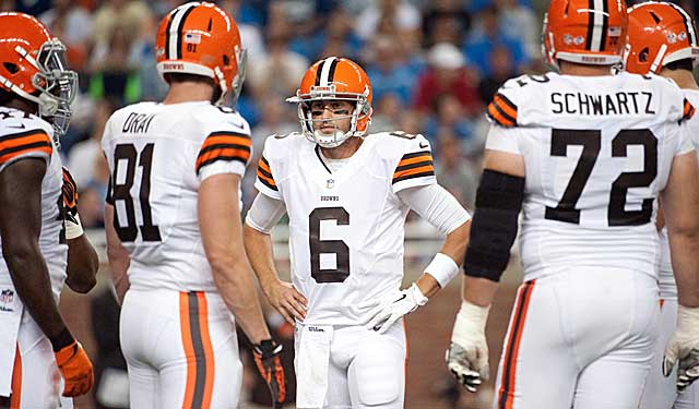 Players want to follow a QB. Is Brian Hoyer that guy in Cleveland? (USATSI)
