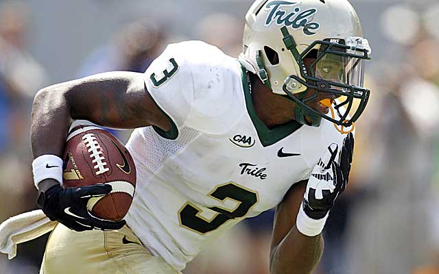 William & Mary's Tre Davis looks like he could be a star in the SEC. (USATSI)