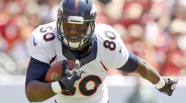 TE tiers: Julius Thomas among elite three