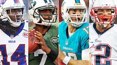 AFC East: Best/worst case