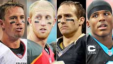 NFC South best/worst case