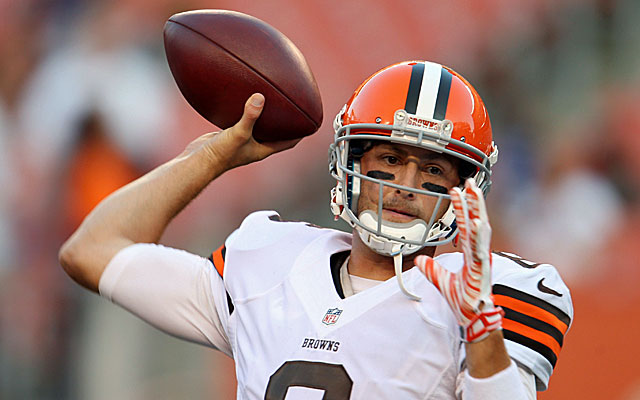 How long will Brian Hoyer be the Browns' starter? (USATSI)