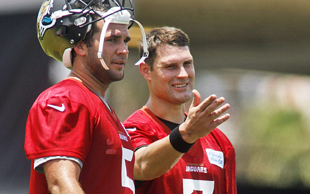 The bonding of Chad Henne and Blake Bortles bodes well for the Jags . (USATSI)