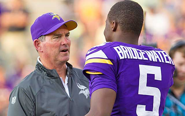 Can Mike Zimmer and Teddy Bridgewater turn things around in Minnesota?(USATSI)