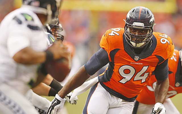 DeMarcus Ware is looking to rebound in Denver after a down season in 2013 in Dallas.