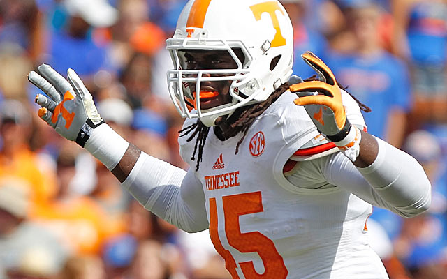 Inside linebacker A.J. Johnson's production and big hitting are prime assets. (USATSI)