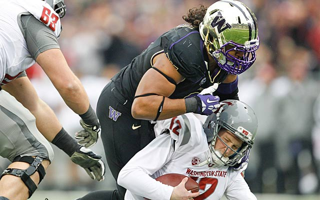Hau'oli Kikaha's NFL future could well depend mostly on his medical reports. (USATSI)