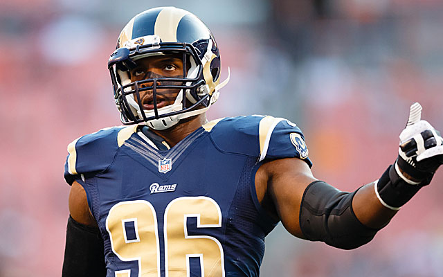 Michael Sam is far from a sure bet to make the final Rams roster.  (USATSI)
