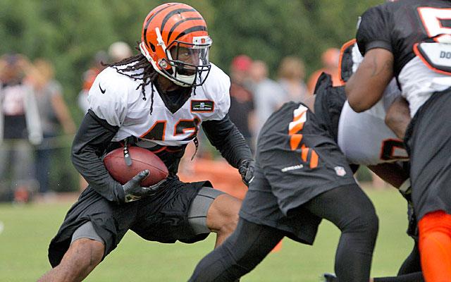 BenJarvus Green-Ellis is done in Cincinnati after two seasons with the Bengals. (USATSI)