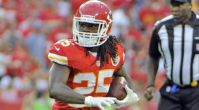 Rankings: Jamaal Charles heads Top 200, RB chart