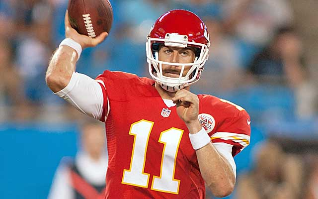 Alex Smith gets some long-term security from the Chiefs.(USATSI)