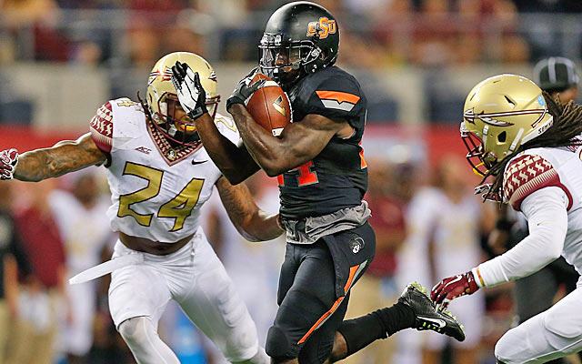 Tyreek Hill produced 278 all-purpose yards against a stacked FSU team. (Getty Images)