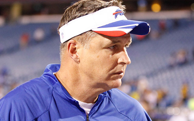 Doug Marrone is set to begin his second season as Bills coach after going 6-10 in 2013. (USATSI)