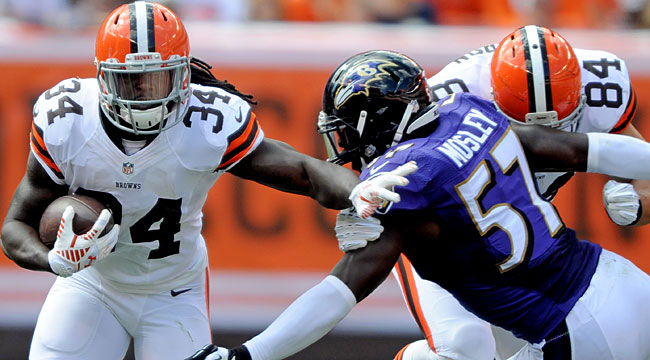 LIVE: Browns trying to hold off Ravens (CBS)