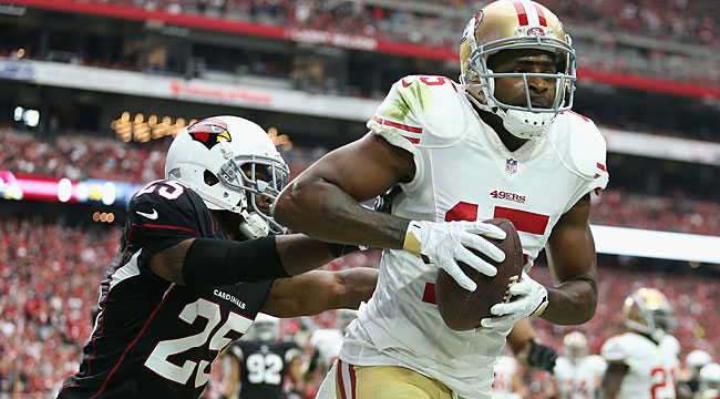LIVE: Crabtree TD puts Niners up at Cards