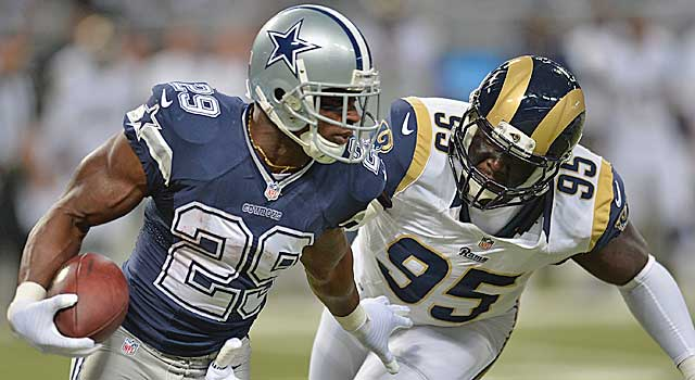 DeMarco Murray is on pace for 2,000 yards. Can he keep it up? (Getty Images)