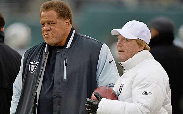 Is Mark Davis growing impatient with GM Reggie McKenzie's rebuild? (USATSI)