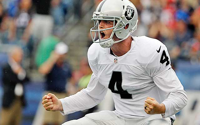 Derek Carr looks like a solid pick so far, but the Raiders need upgrades across the board.. (USATSI)