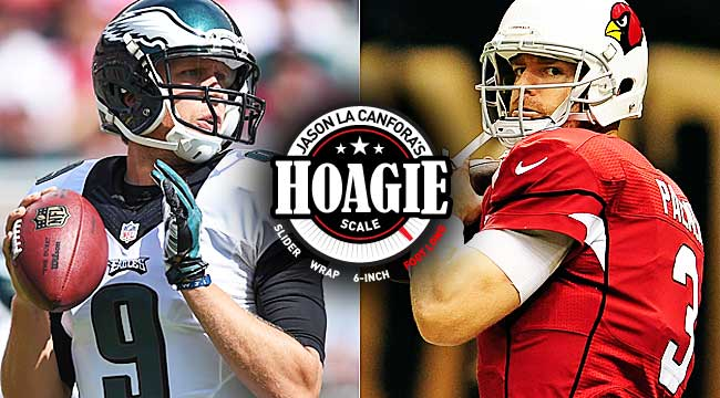 Game Rankings: Cards at Eagles a footlong