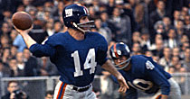 Y.A. Tittle (Getty Images)