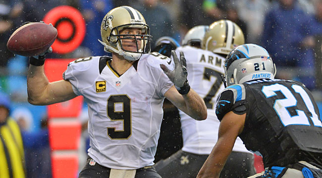 8:25 ET: Saints-Panthers for NFC South lead