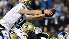 Saints stop Panthers