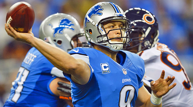 Bears-Lions: The most important stats to know