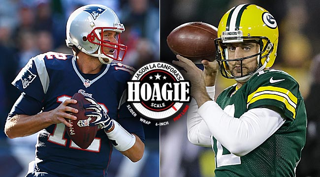 La Canfora: Brady vs. Rodgers. Delicious